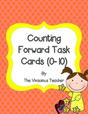 Counting Forward Task Cards (Numbers 1-10)
