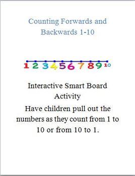 Counting Forward and Backward