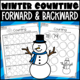 Counting Forward and Backward Worksheets! Within 20, within 100, & within 120