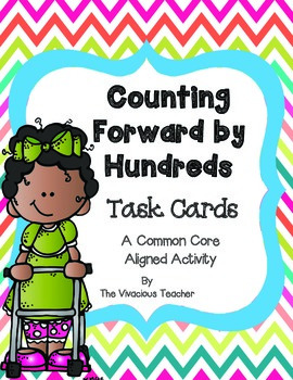 Counting Forward and Backwards by Hundreds Task Cards