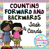 Counting Forward and Counting Backwards Task Cards Bundle