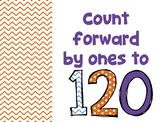 Counting Forward by Ones 0-120 Video
