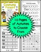 Counting Forward From a Given Number (for Kinders) Practice Pack