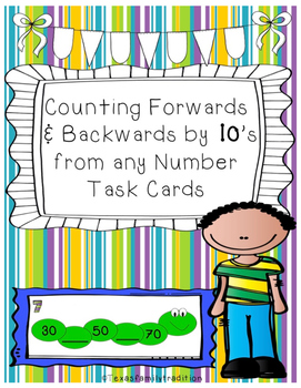 Counting Forwards & Backwards by 10's from any Number