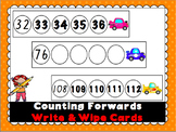 Counting Forwards Write and Wipe Cards