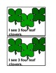 Counting Four Leaf Clover Emergent Reader Book in color fo