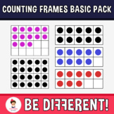 Counting Frames Basic Pack Clipart (0-10, 0-20)