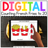 Counting French Fries 10 to 20 Digital Activity | Distance