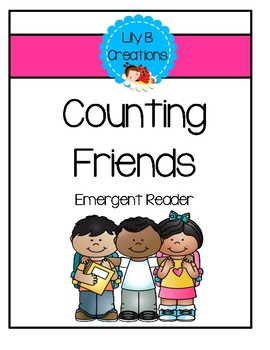 Counting Friends - Emergent Reader