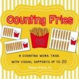 Counting French Fries ~ Fast Food Math Work Task for Speci