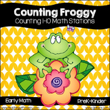 Counting Froggy:  1-10 Counting Math Centers