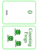 Counting Frogs 0 -10 Counting flashcards