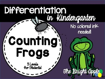Counting Frogs Differentiated Center