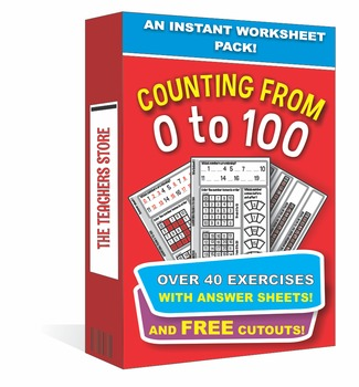 Counting From 1 to 100 - An Instant Worksheet Pack (Common Core aligned)