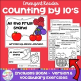 Counting Fruit by 10s ~ At the Fruit Stand Reader &  BOOM™ version with audio