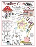 Counting Fun Math Puzzles (Easy & Medium-Hard)
