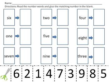 Counting Fun With Numbers 1-9