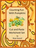 Fall Math Center Count Pumpkins P-K,K,Special Education Fi