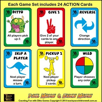 Counting Fun with Ditto - 10 frames