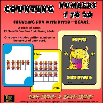 Counting Fun with Ditto - Bears