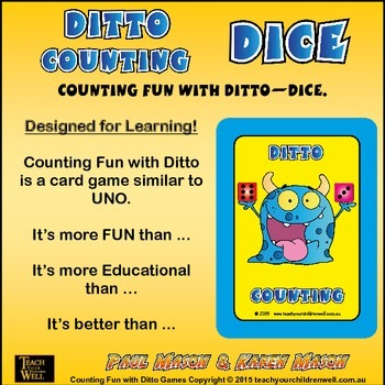 Counting Fun with Ditto - Dice