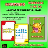 Counting Fun with Ditto - Stars