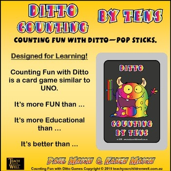 Counting Fun with Ditto - count by tens