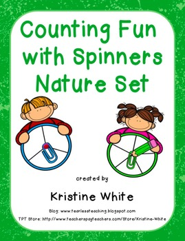 Counting Fun with Nature Spinners