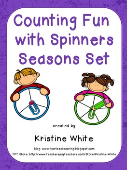 Counting Fun with Seasons Spinners