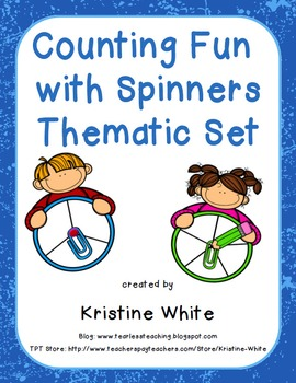 Counting Fun with Thematic Spinners