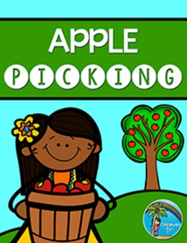 "Fall Math Number Concept Game ""Apple Picking"""