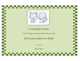 Counting Game for KIDS (HI Practice Sheets for KIDS)