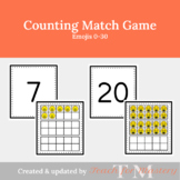 Counting Game for Kids: Emoji Match Game