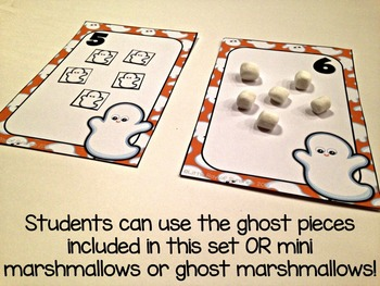 Counting Halloween Ghosts