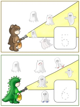 Counting Ghosts Trace/Write Numbers