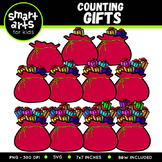 Counting Gifts Clip Art