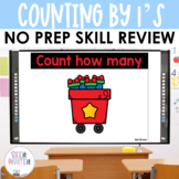Counting Gifts - Counting by 1's to 10 See it Write it