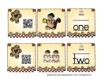 Counting Gingerbread with QR Codes