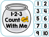 Counting Goldfish--An Adapted Interactive Counting Book {Autism, PreK}