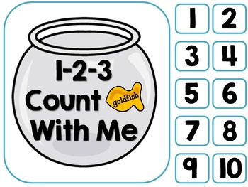 Counting Goldfish--An Adapted Interactive Counting Book {A