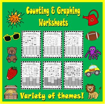 Counting & Graphing Worksheets.