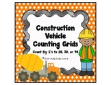 Counting Grids- Count by 1's to 20, 30, or 40- Constructio