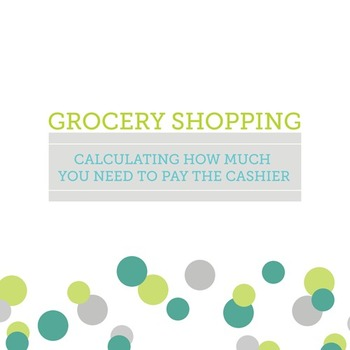 Counting Grocery Shopping Spending