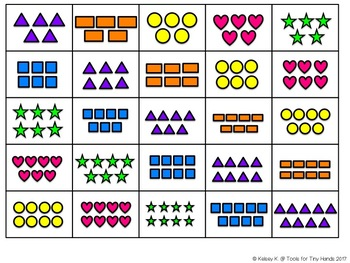 Counting 1-10 Sorting Activity (Includes Touch Math Support)