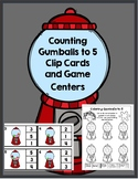 Counting Gumballs 1-5 Centers FREEBIE!