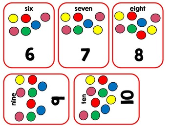 Counting Gumballs Adapted Interactive Book Special Education, Autism, SLP
