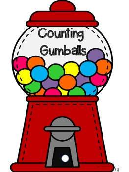 Interactive Counting Gumballs Counting Notebook