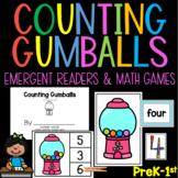 Counting Gumballs Fun Math Bundle for PreK Kindergarten and 1st