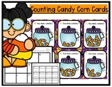 Counting Halloween Candy Corns Math Cards
