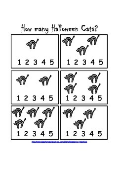 Counting Halloween Cats